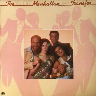 Manhattan Transfer (The) ‎- Coming Out (LP) (G-VG/VG)
